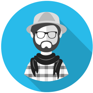 atomix user in a hat icon