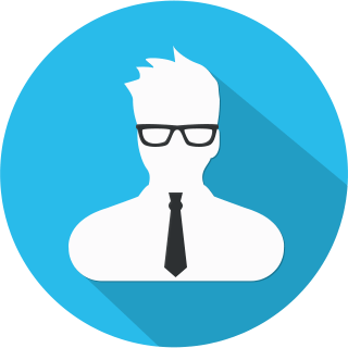 marketing man icon