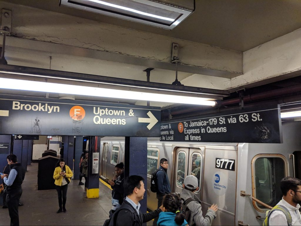 The NYC subway is a great example of UX and user experience design